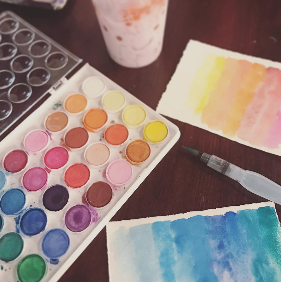 painting colors for Tell it Color