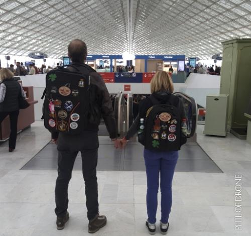 Sur le départ, Terminal 2E