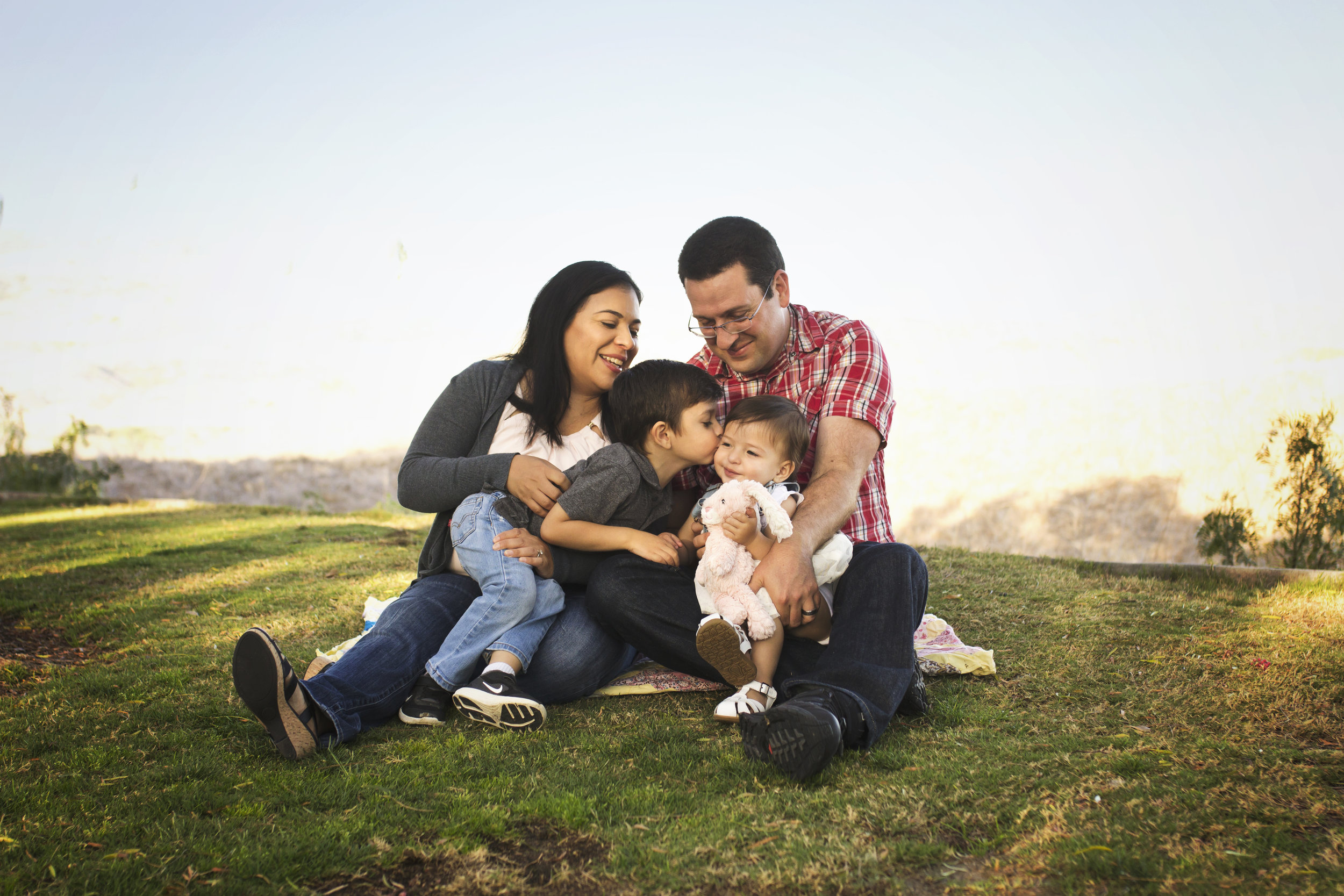 Stacey Still Photographer | An Orange County family mini session