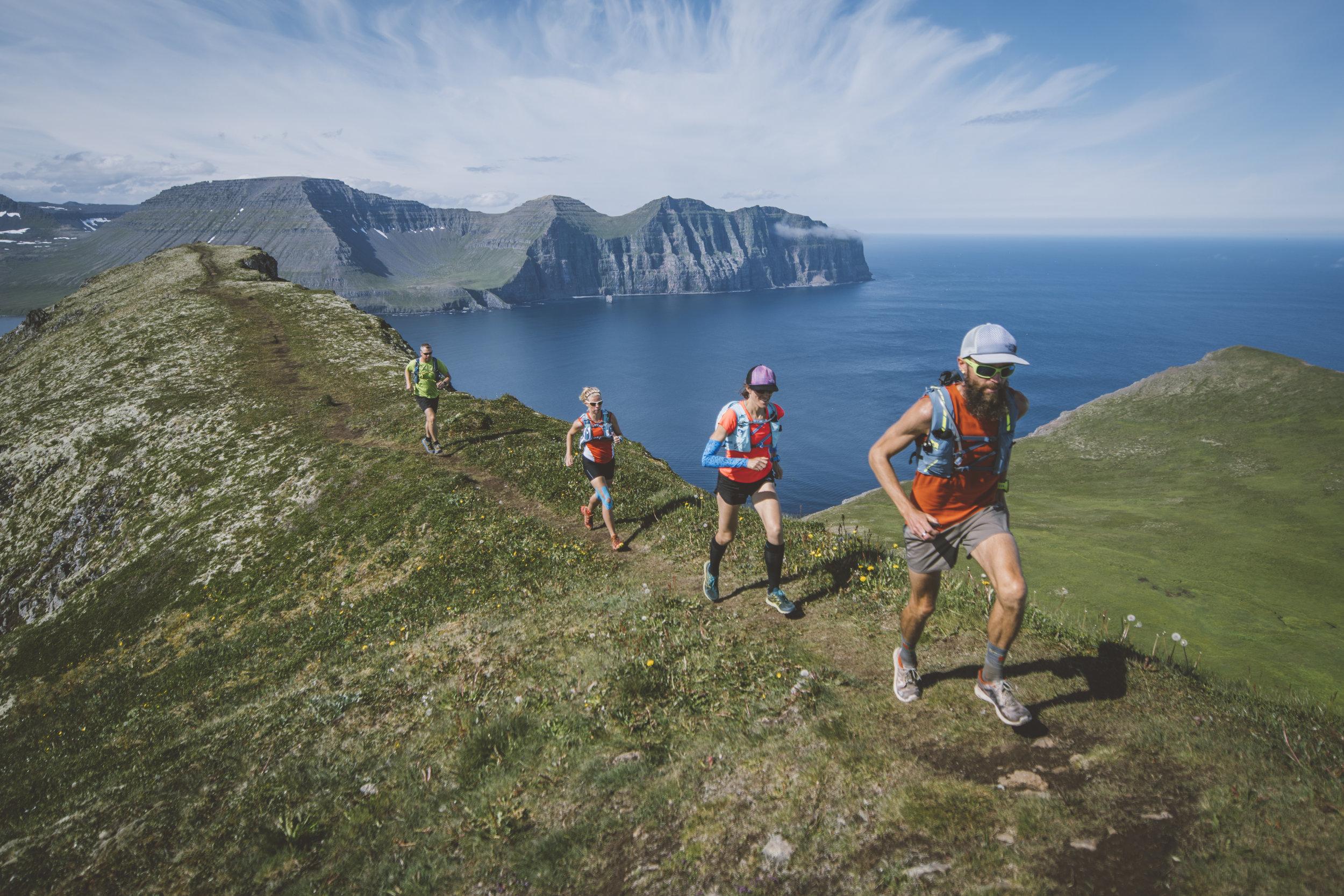 running mountains