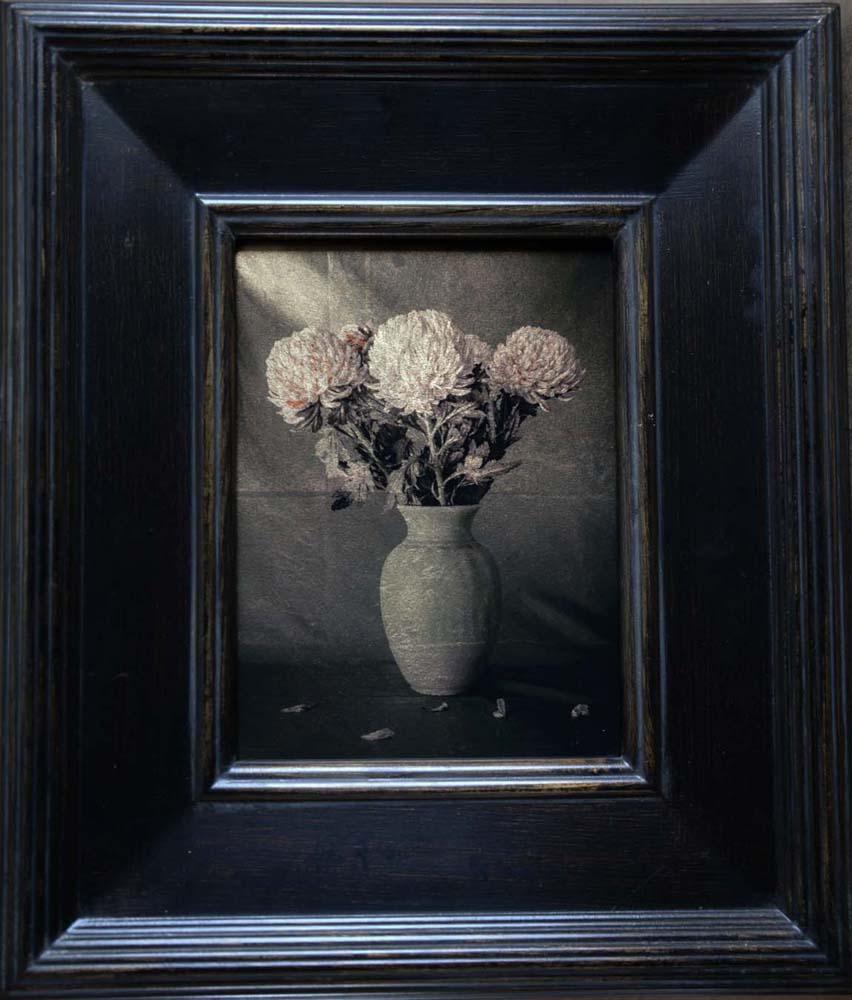 Vase with Chrysanthemum