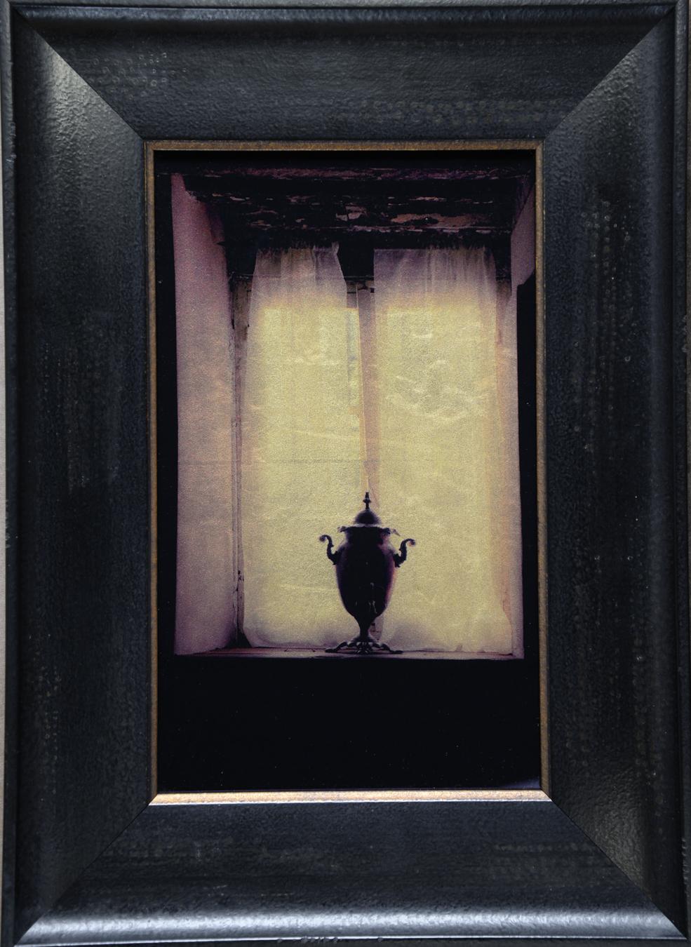 Samovar in Window, Tuscany