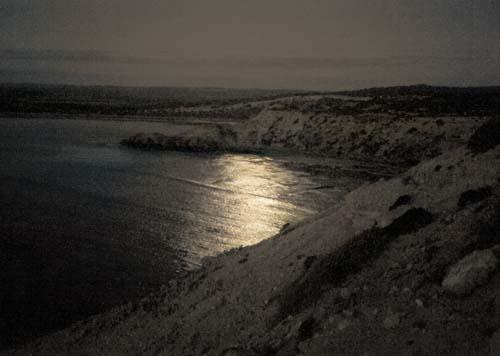 Moonlight on Bay, Elliston, South Australia
