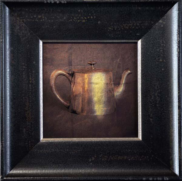 Small Silver Teapot