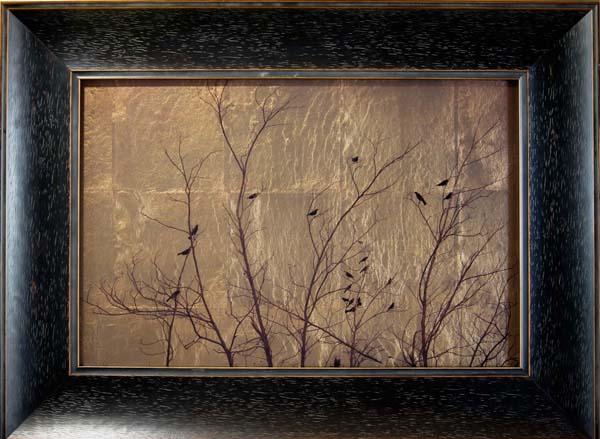 Birds in Bare Tree