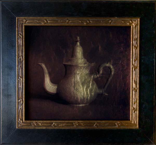 Pewter Teapot II