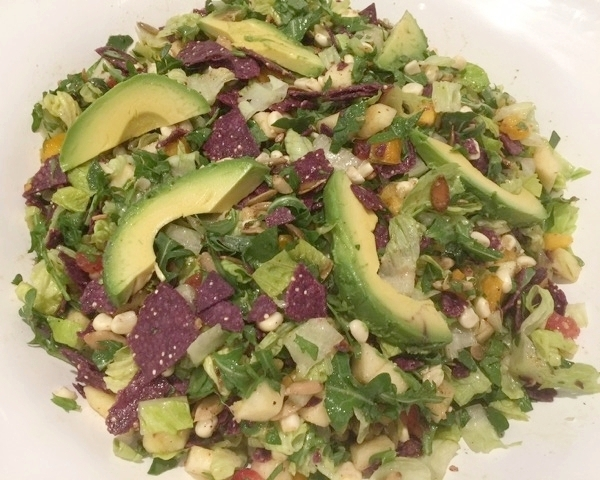 Aztec Chopped Salad with Pepitas & Toasted Cumin Vinaigrette