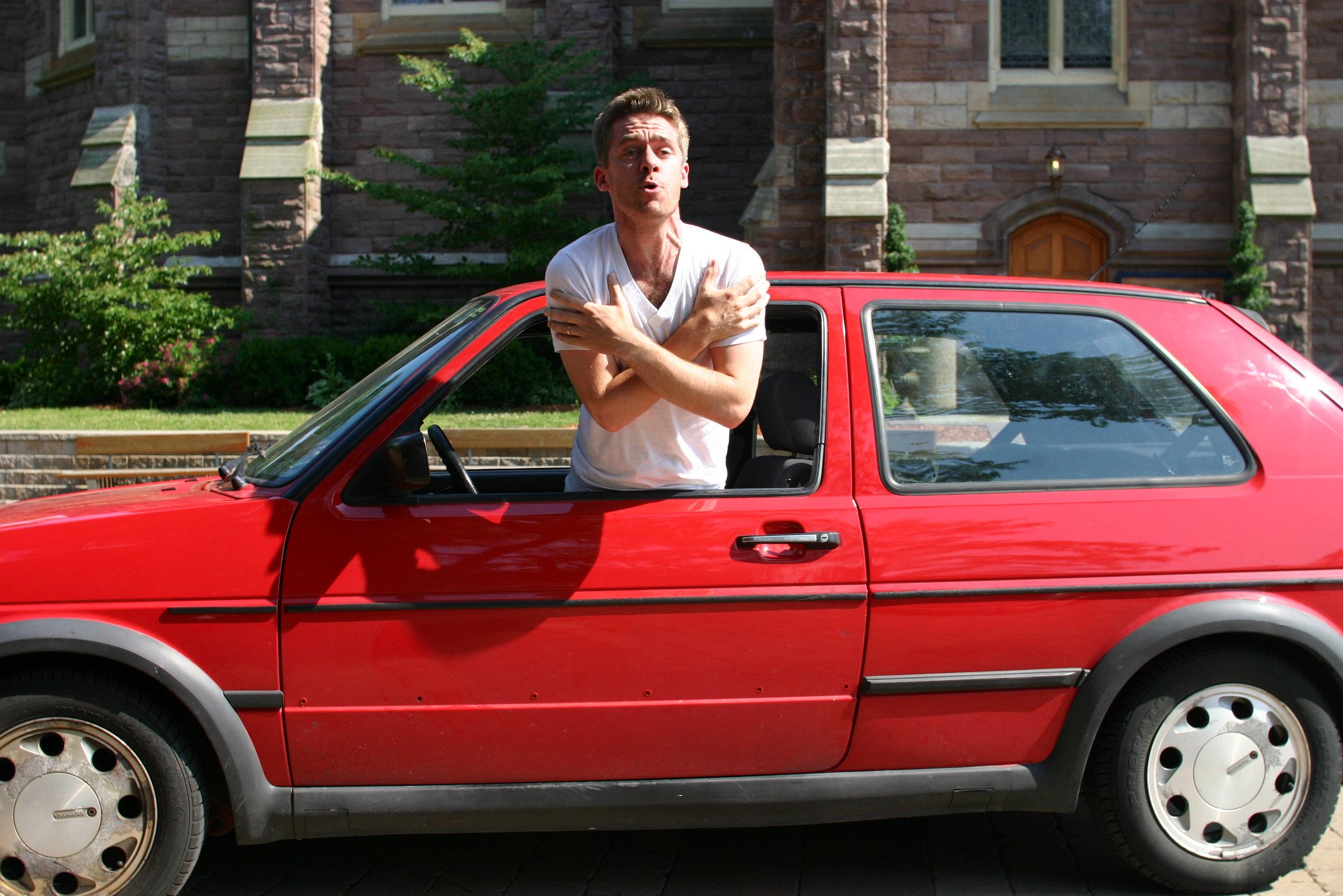 Brett Christopher as Alan Hawk in  Hawk Ltd.  by Brendan Gall
