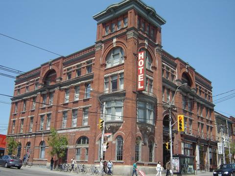 The Gladstone Hotel (Queen Street West & Gladstone Avenue, Toronto)