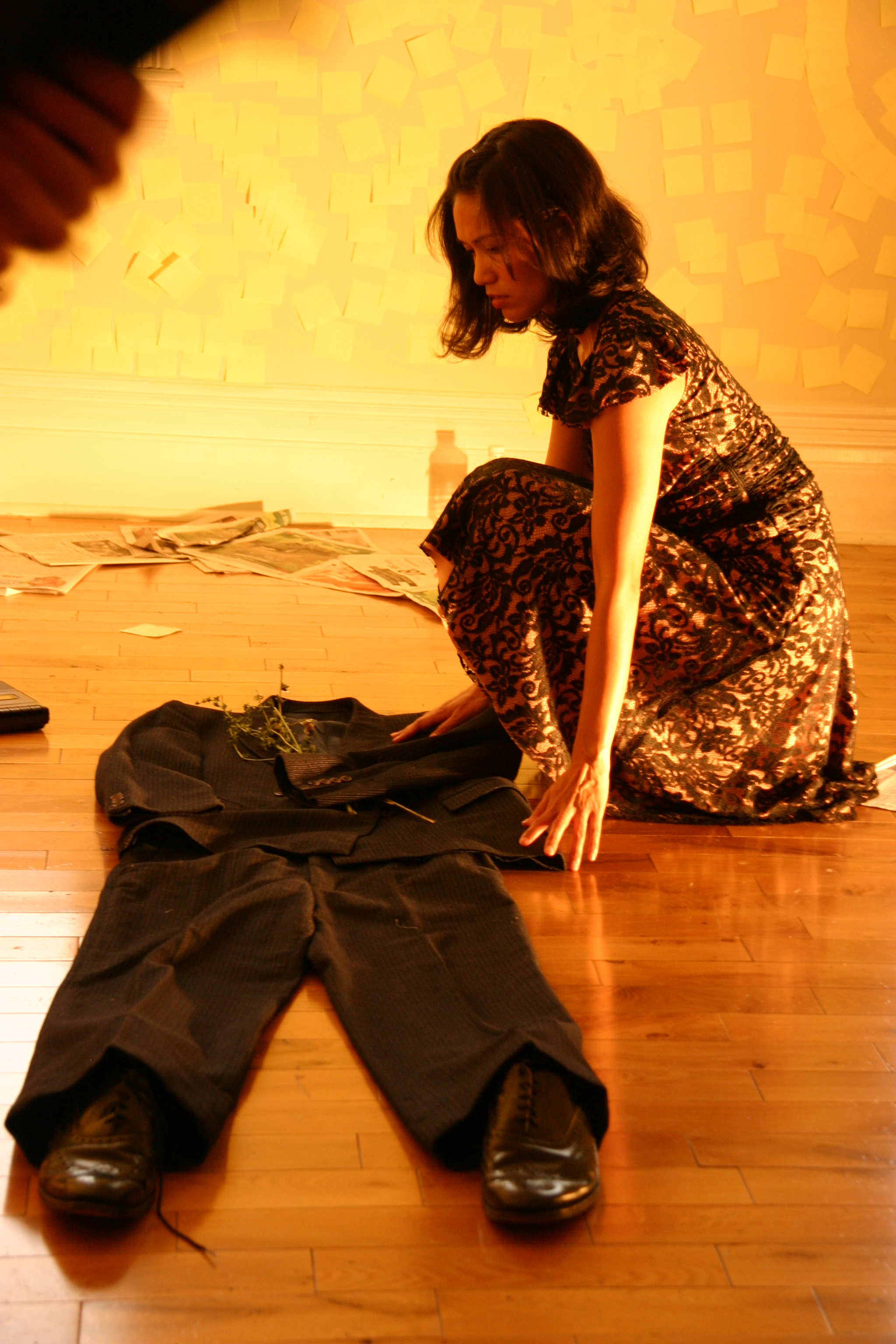 Nadine Villasin as Ms. Greer in  I Grow Old  by Julie Tepperman
