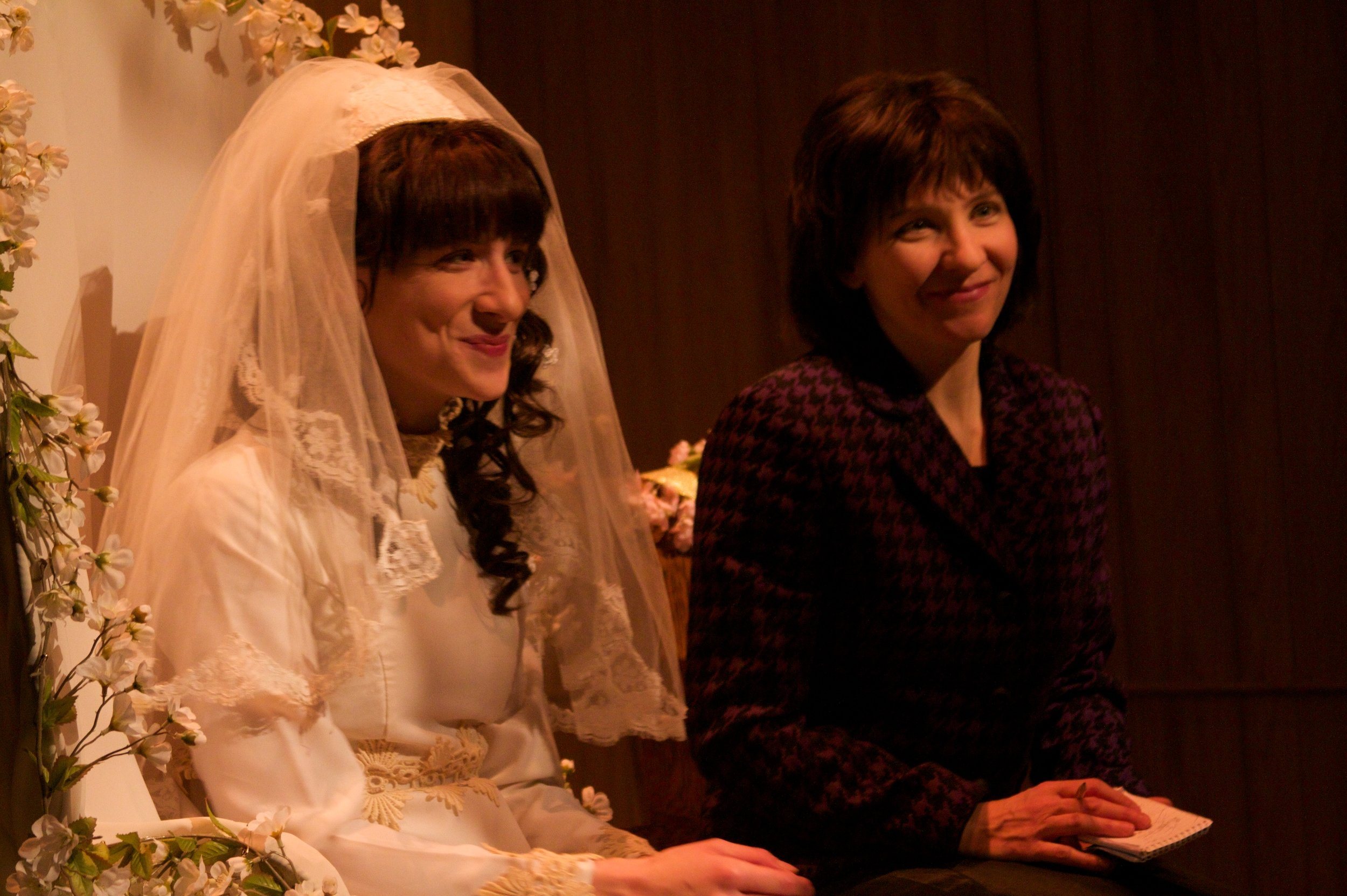 Julie Tepperman as Rachel and Diane Flacks as Malka in YICHUD (Seclusion)