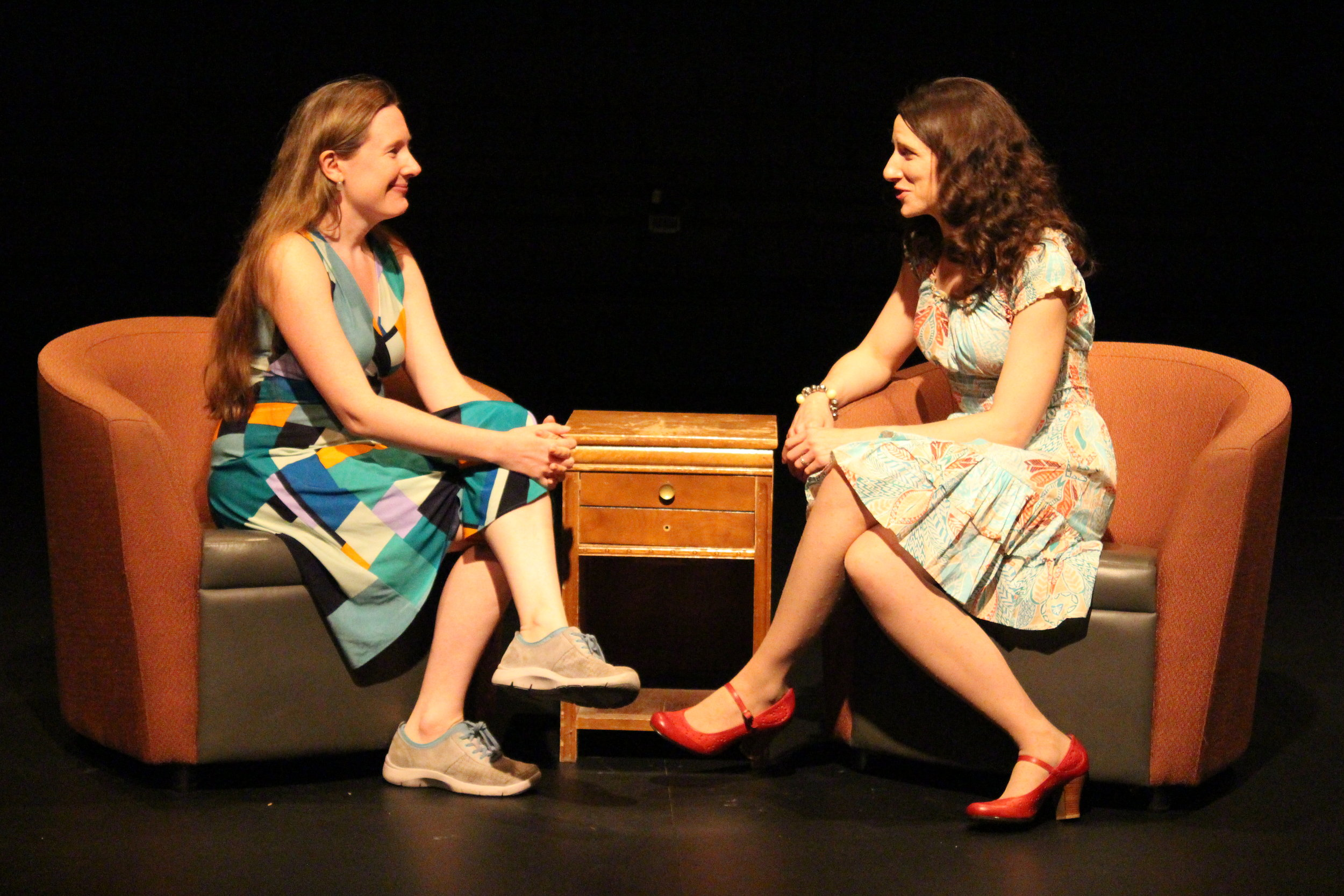 Julie Tepperman interviewing Playwright Sarah Ruhl, live onstage at Tarragon Theatre (June 22, 2013)