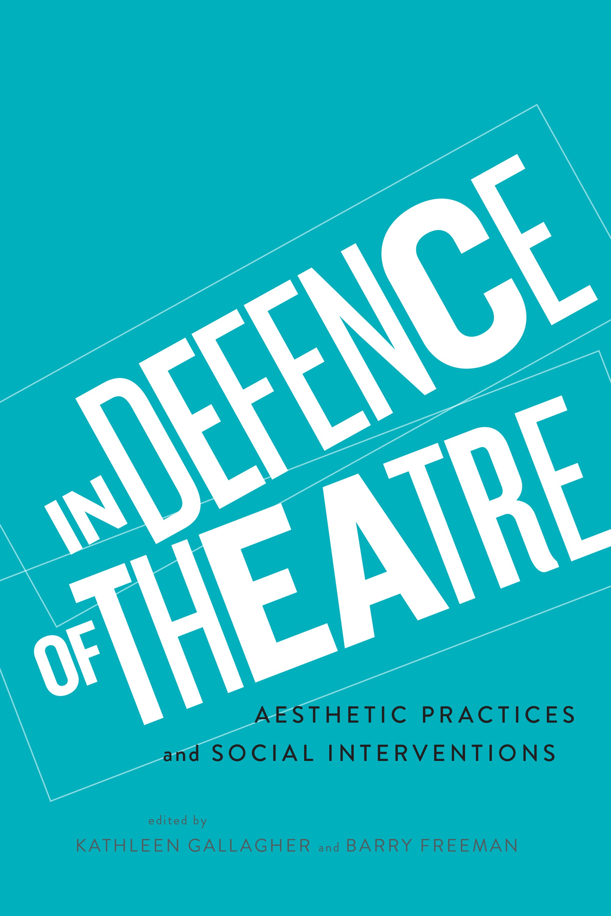 In Defence of Theatre cover