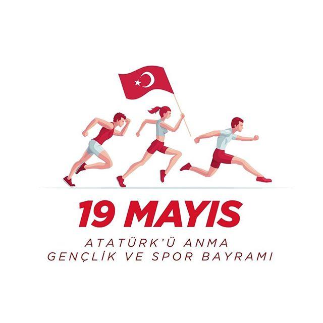 19 Mayıs Atatürk'ü Anma Gençlik ve Spor Bayramınız Kutlu Olsun! . . .  The Commemoration of Atatürk, Youth and Sports Day #19mayıs1919  #NetsaGlobalYouth
