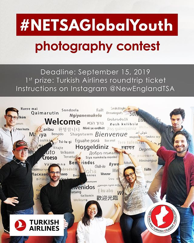Deadline of our Photo Contest is extended 🥳 Show how young and how internationally engaged you are to win a roundtrip flight ticket from #TurkishAirlines  #netsaglobalyouth #istanbulairport