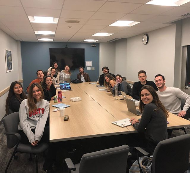 Bu akşam @bu_tsa ile toplantımızı gerçekleştirdik. Kendilerine bize ayırdıkları vakit için çok teşekkür ederiz! #netsa #bostonuniversity #boston #massachusetts #newengland #tsa