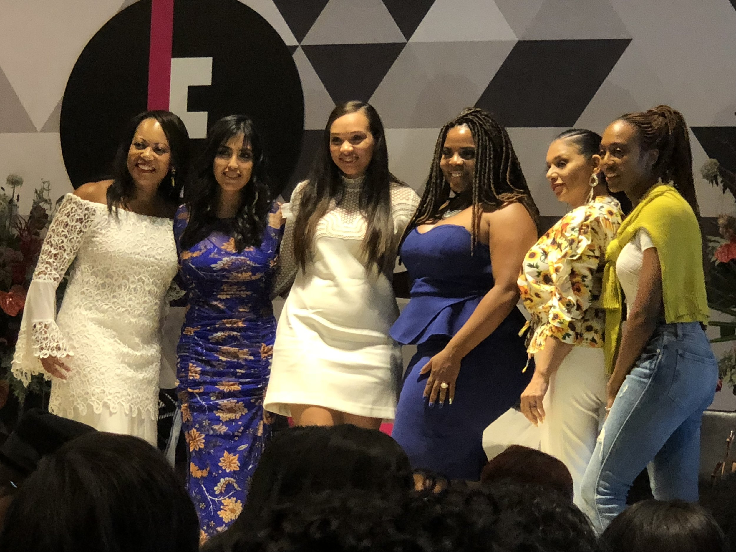 Group of brilliant women I shared the stage wtih