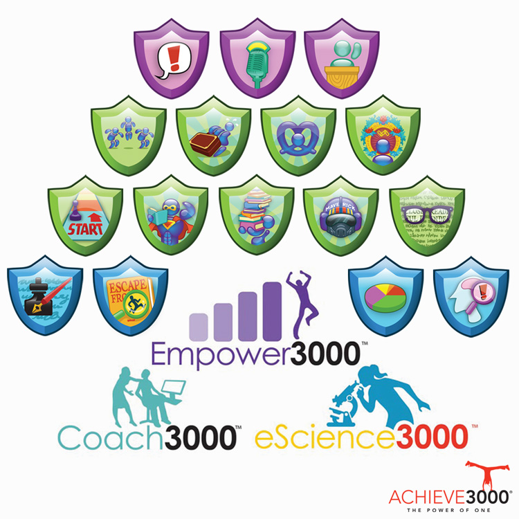 Achieve3000 Branding & Gamification