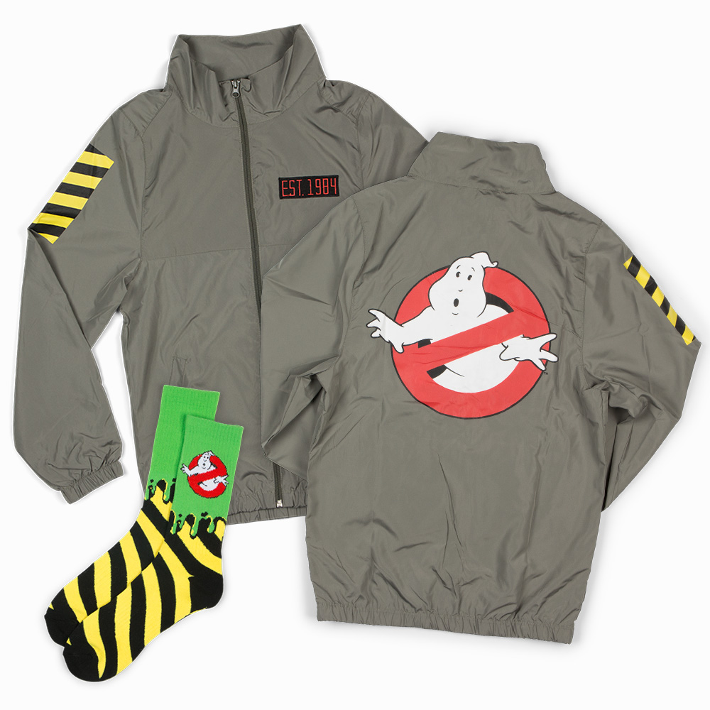 Ghostbusters Windbreaker & Socks