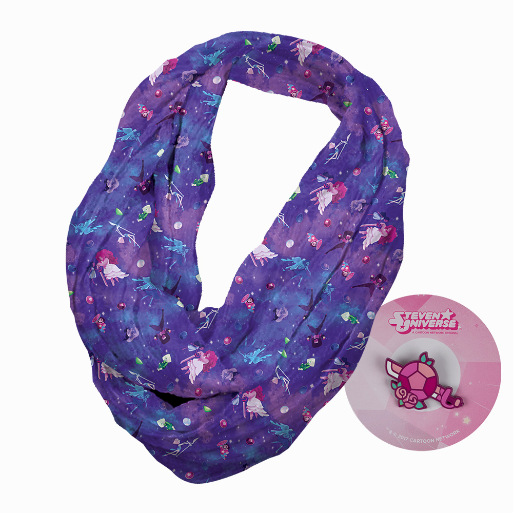 Steven Universe Infinity Scarf & Pin