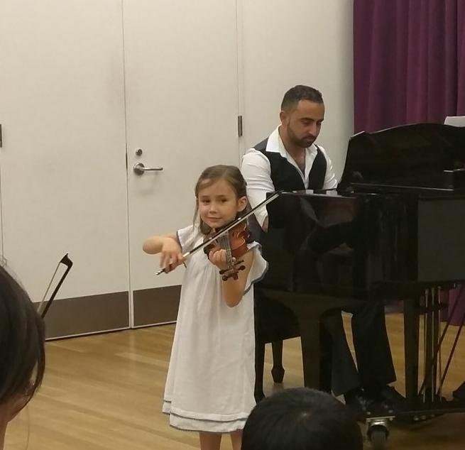 NYC Violin Recital