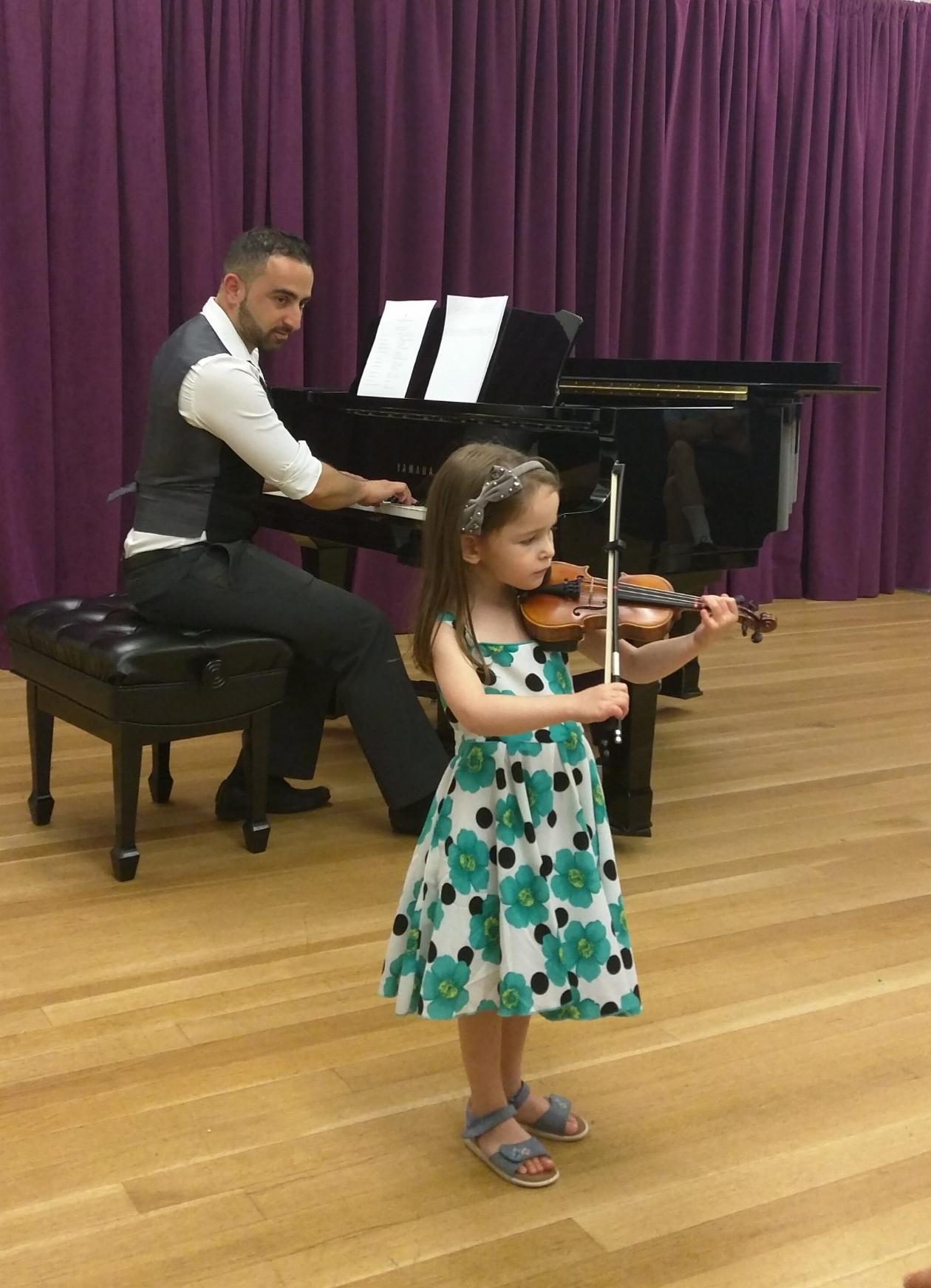 NYC City Strings Violin Recital