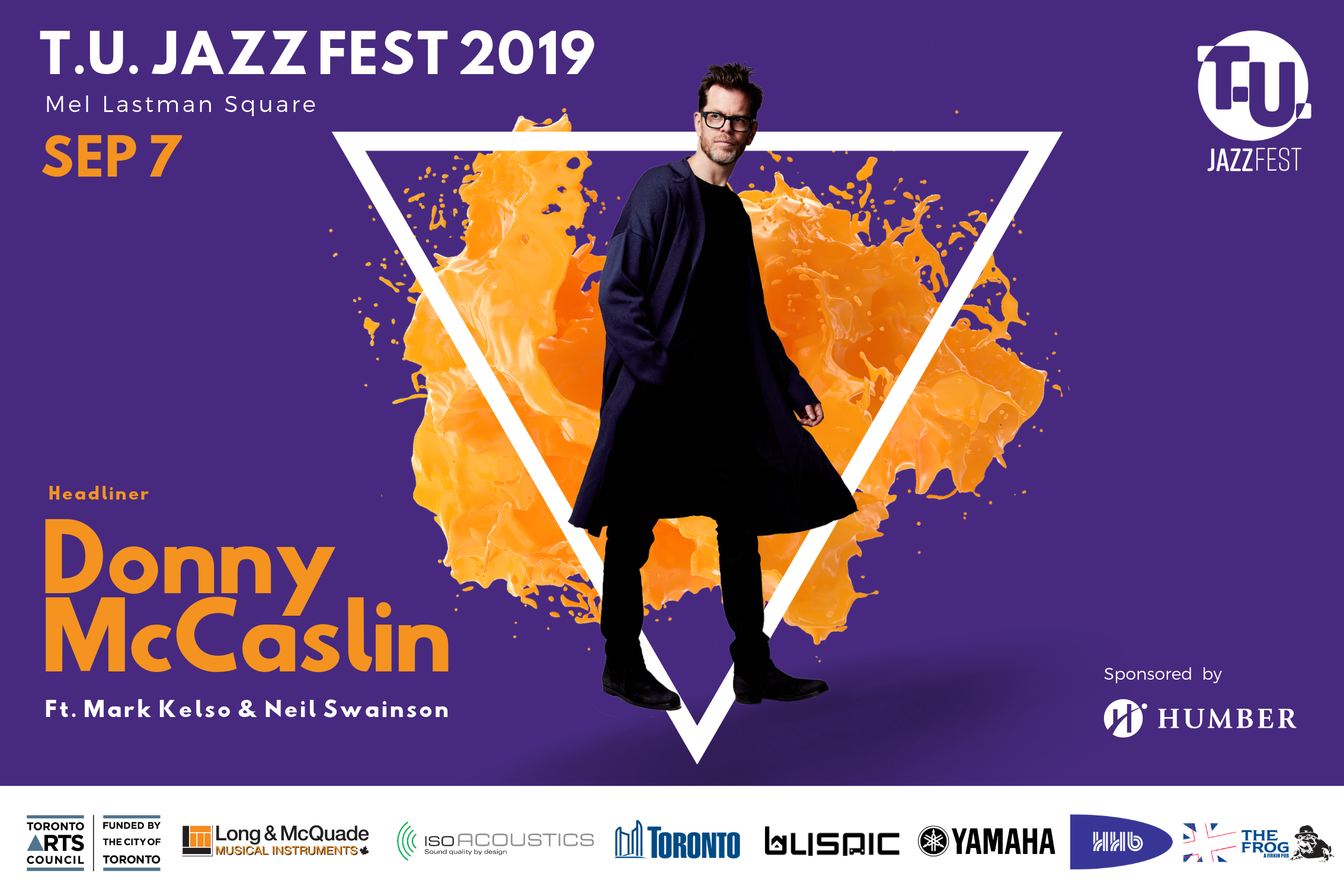 Donny McCaslin - FREE SHOW:VIP TICKET AVAILABLE HERE