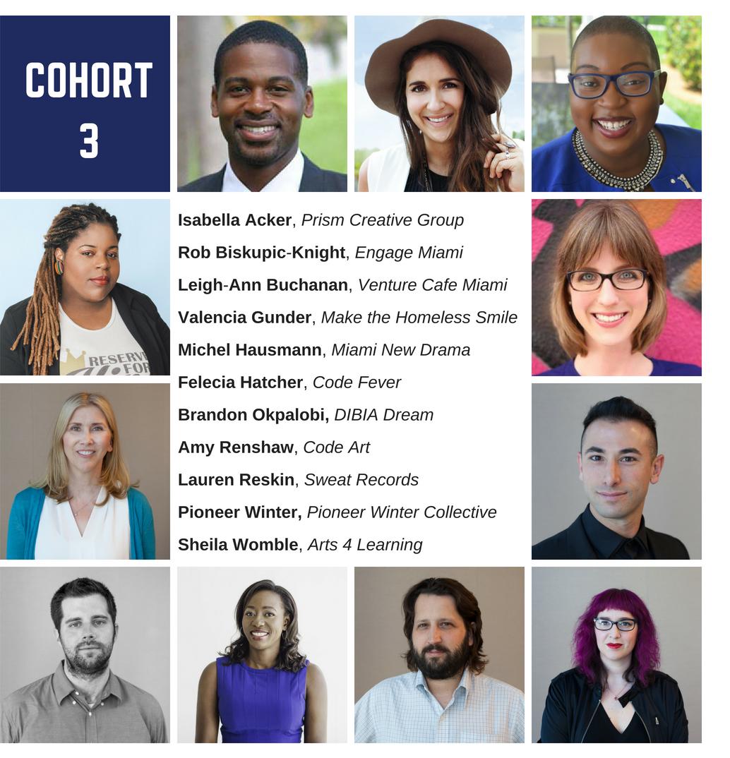 Radical Partners Social Entrepreneurship Bootcamp Cohort 3 Participants