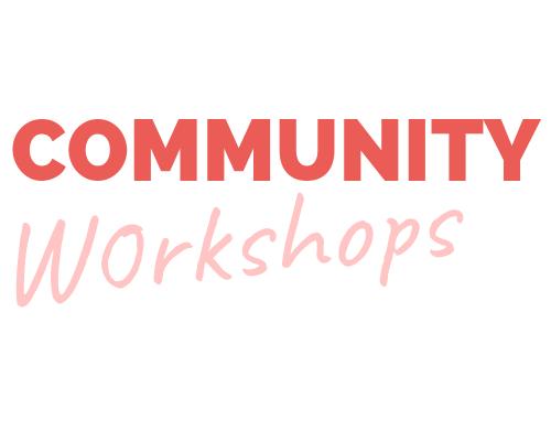 Radical Partners Community Workshops Logo