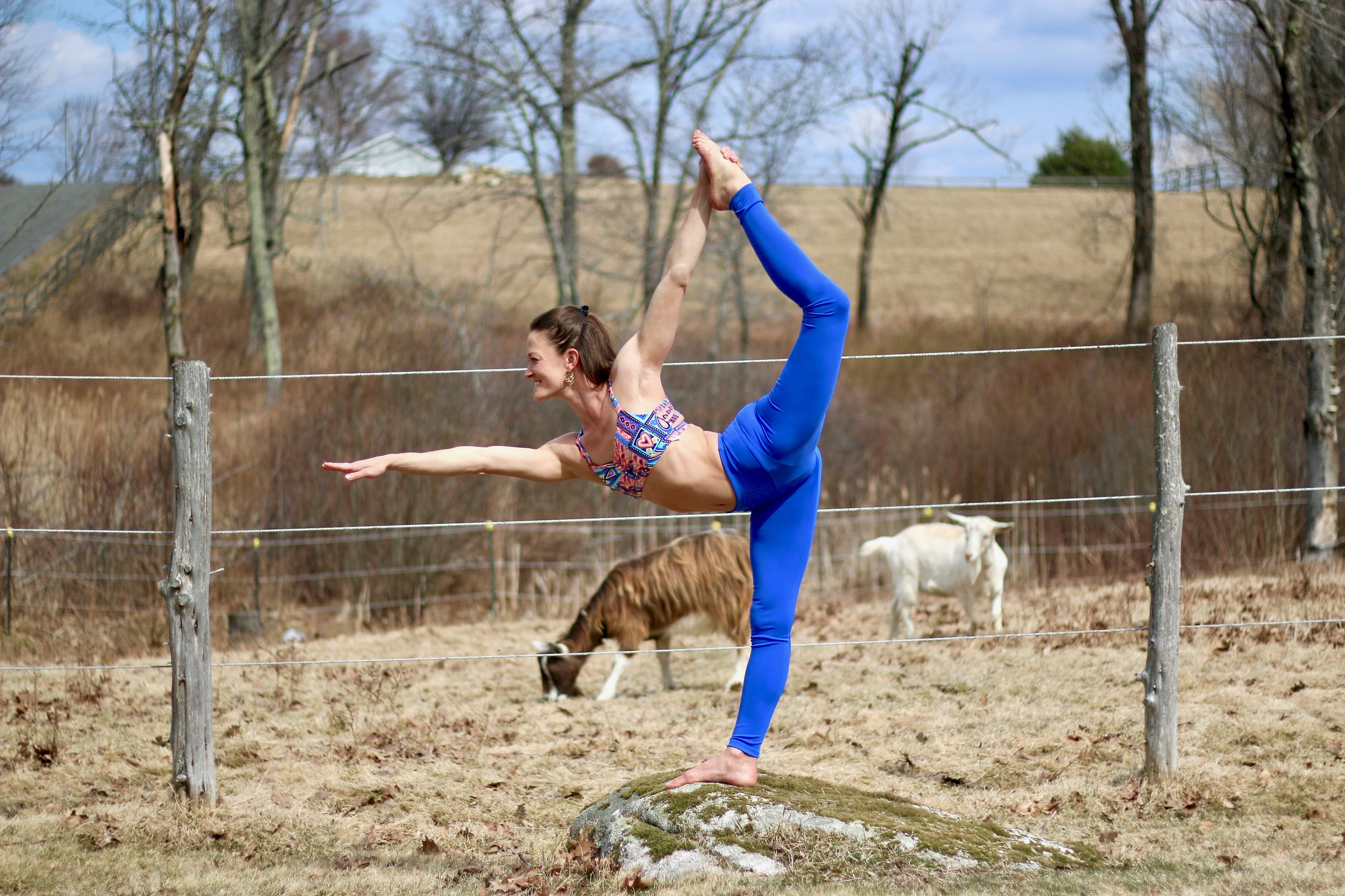 On the regular, - you can find me at home in Goshen, CT living that #farmlife, hanging out with amazing peeps, and teaching badass yogis how to reach their highest potential!