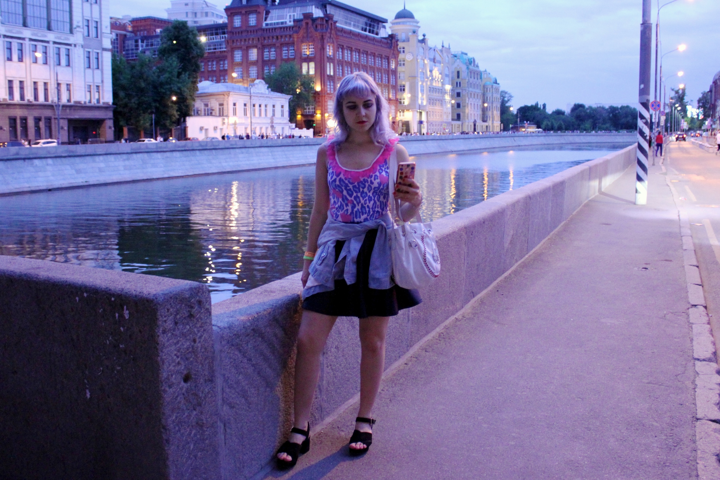 wearing  Loved By Erika  in moscow