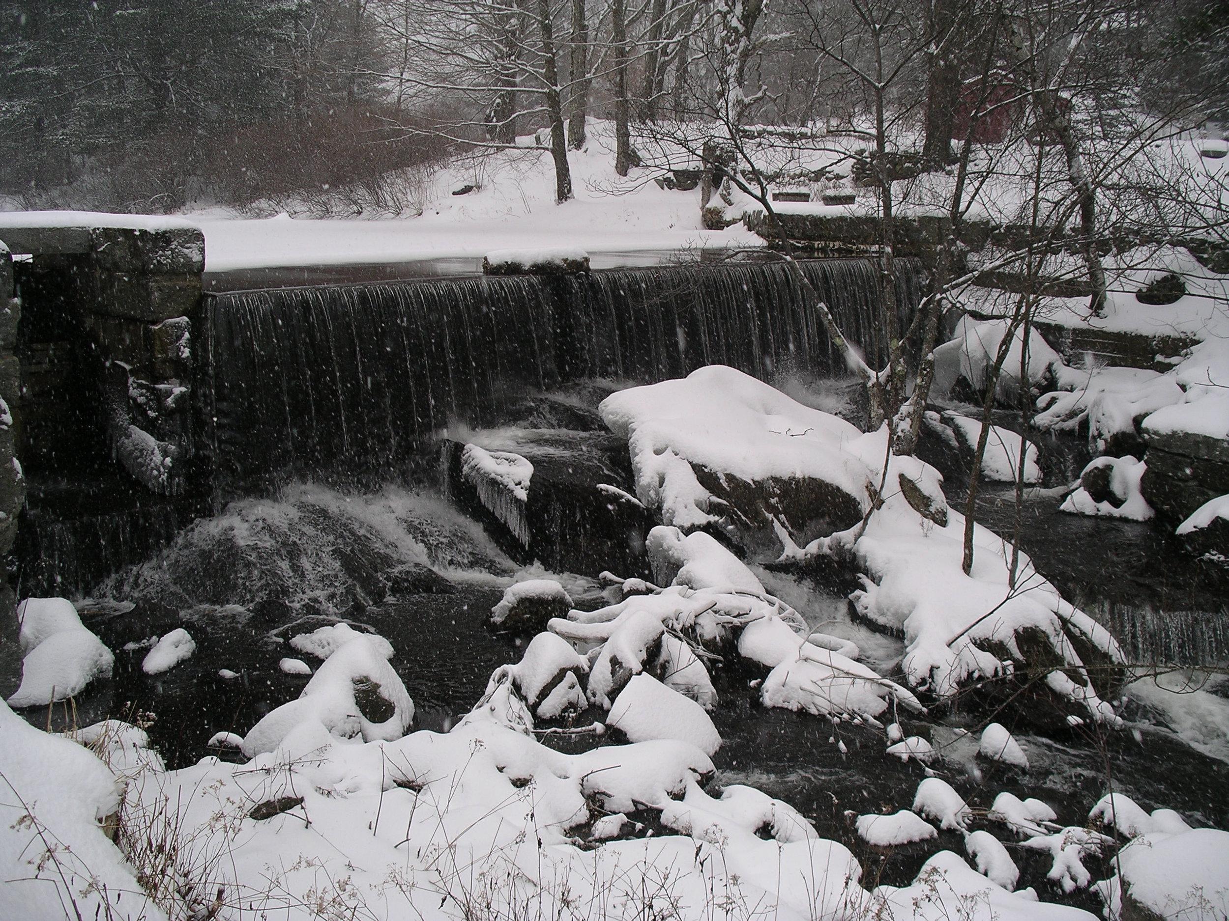 Rowe Waterfall