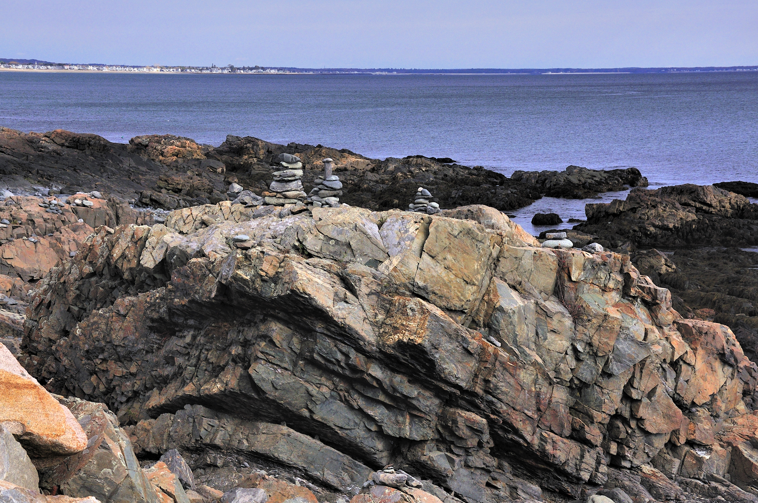 Stone Stacks, Marginal Way, Ogunquit, ME