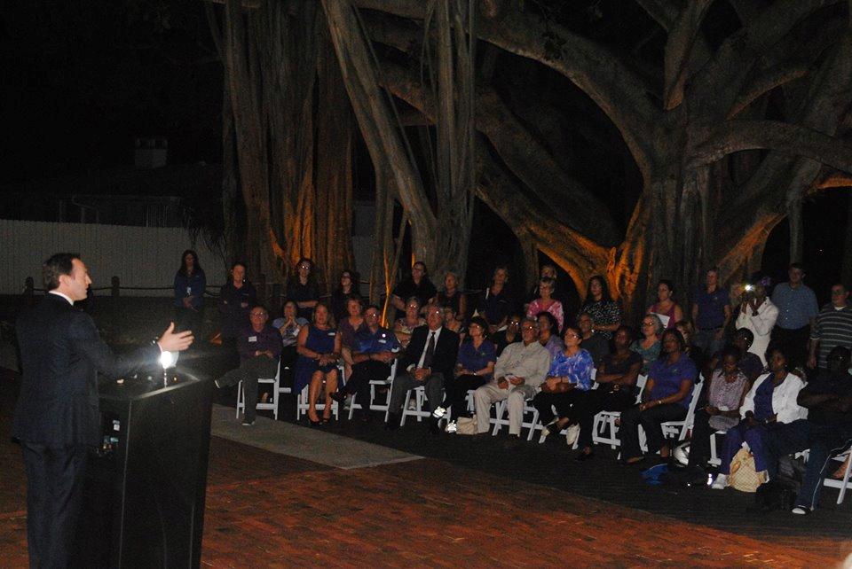 Congressman Patrick Murphy 2014 Shine a Light on Domestic Violence