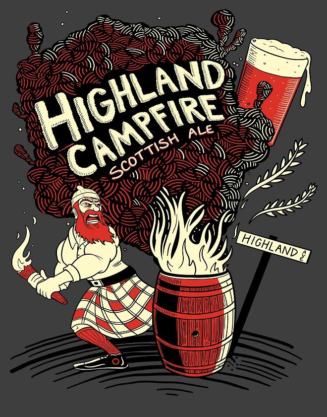 Highland Campfire