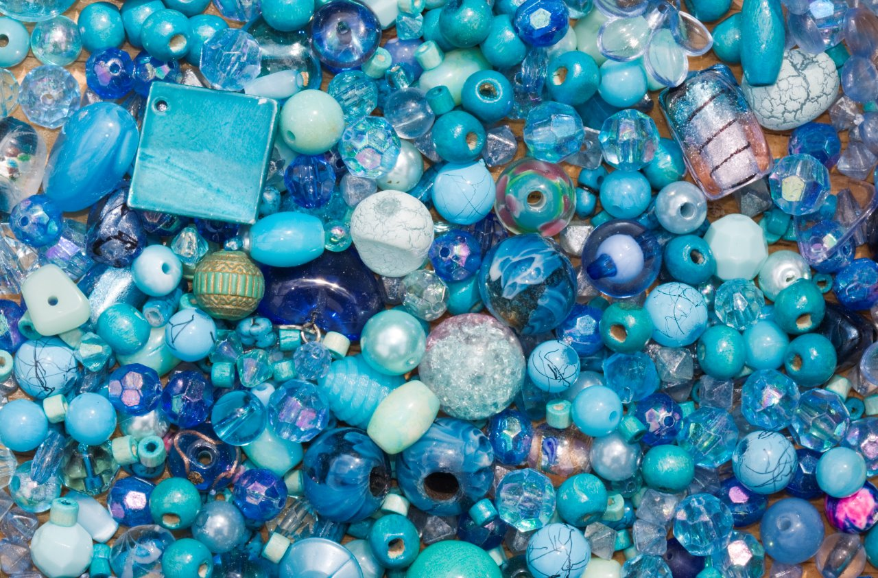 Jewelry with beads, crystals, metals, and more