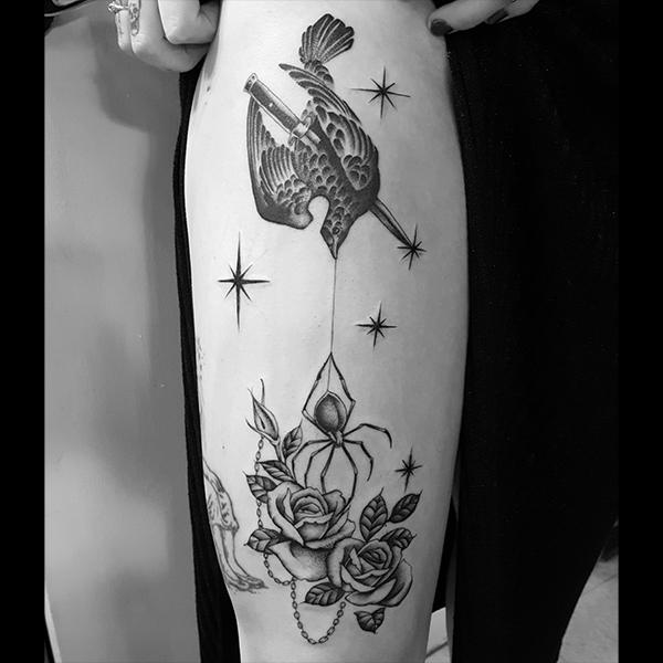 bird-spider-rose