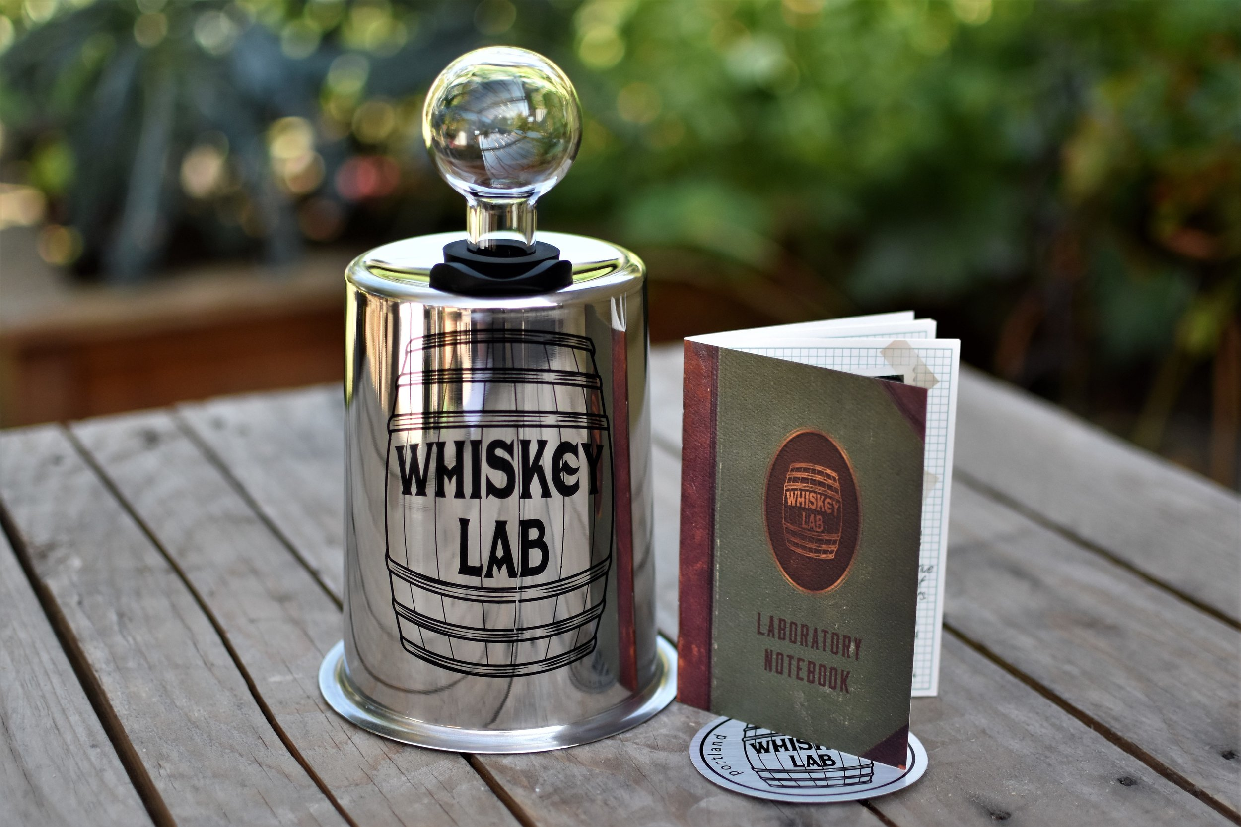 Whiskey Lab Mini Barrel
