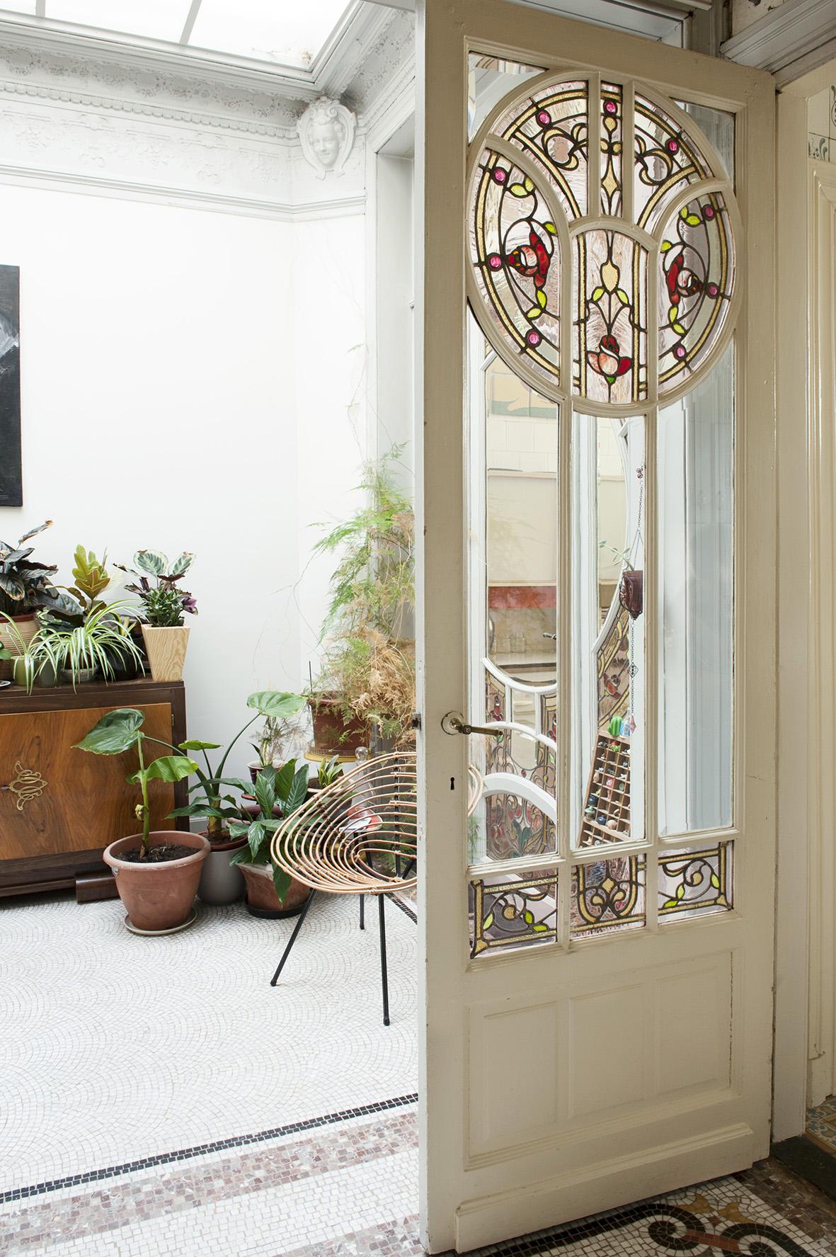 interior art nouveau photography