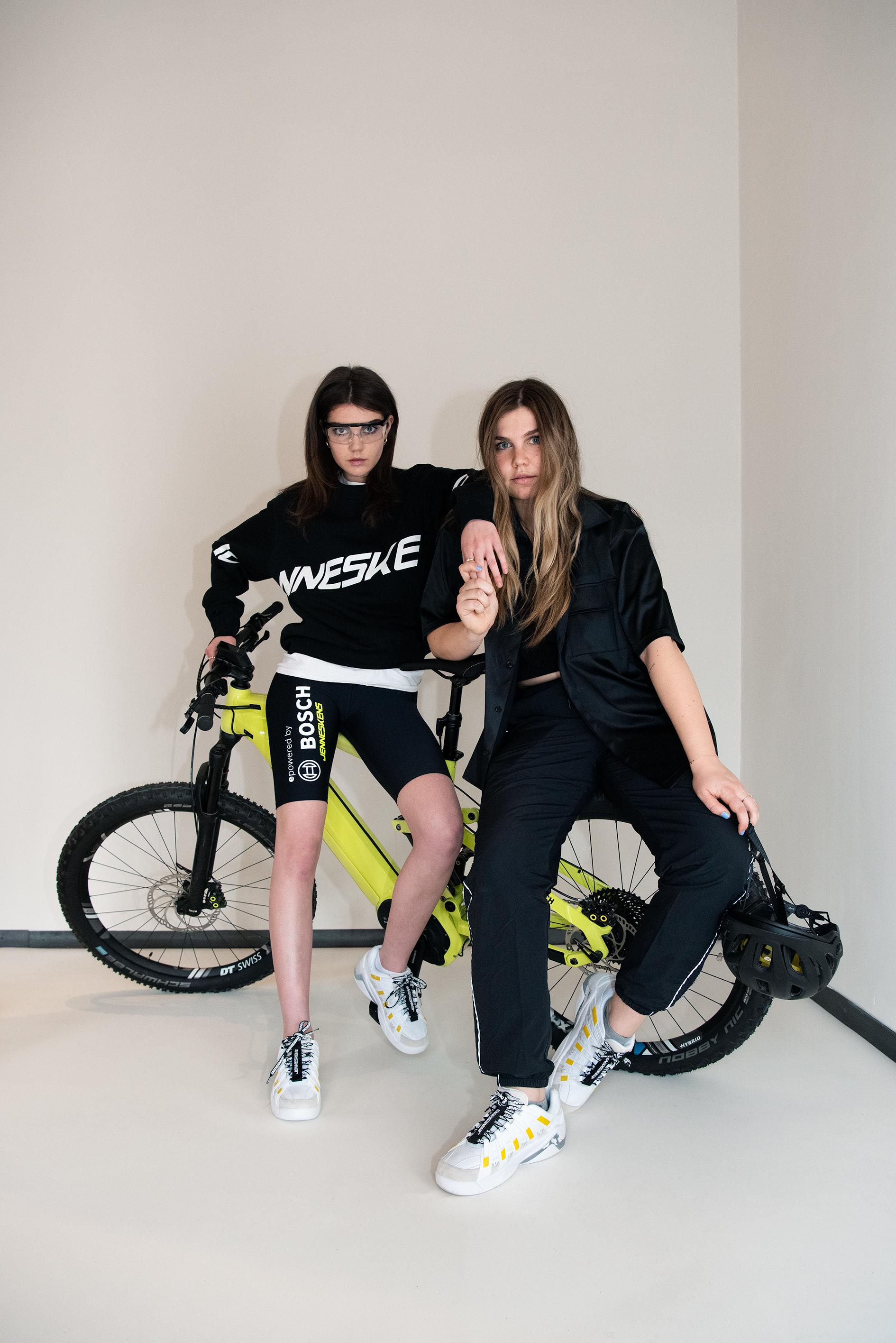Fashionphotography Jenneskens Bosch fietsbroekje