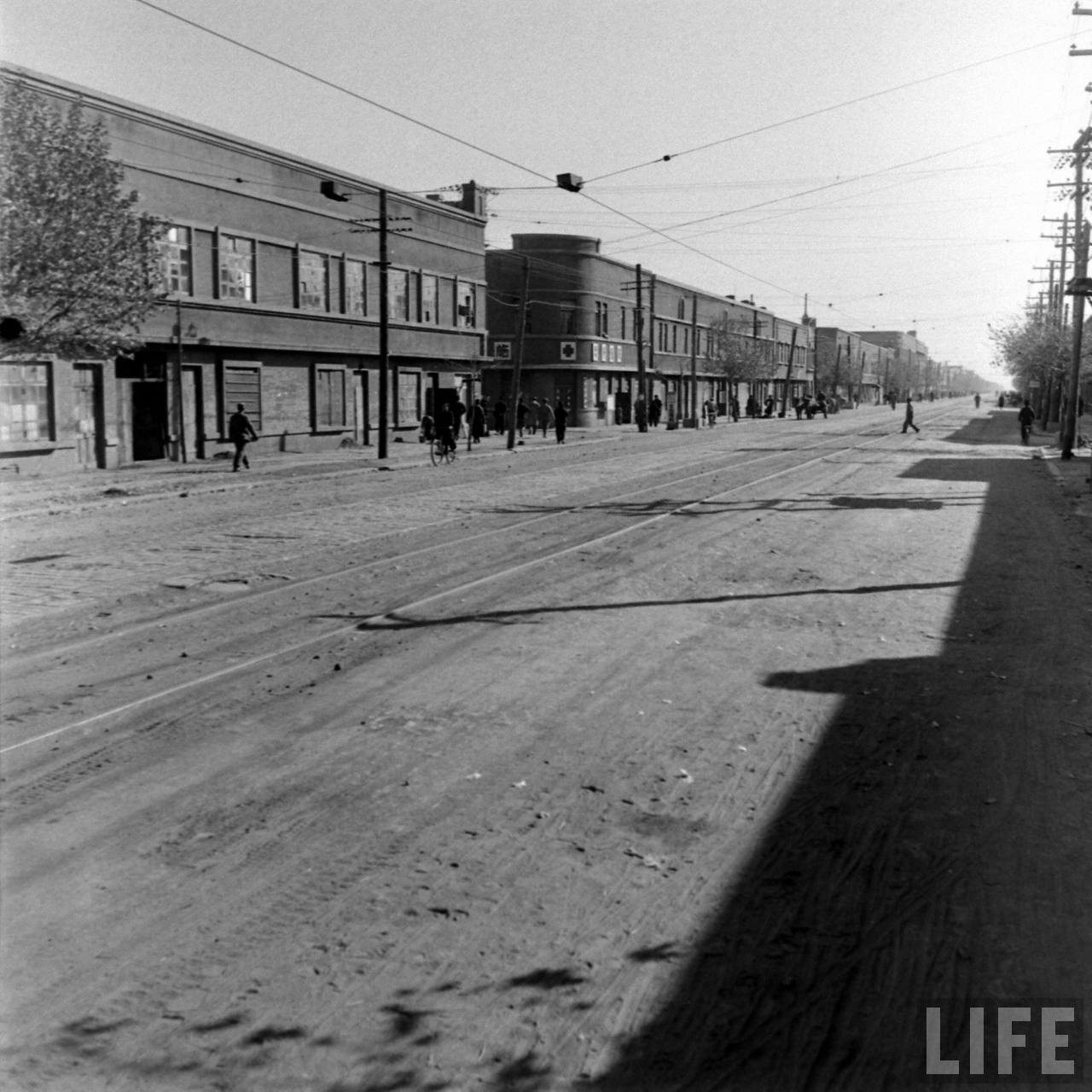 The lonely streets of Shenyang circa 1948