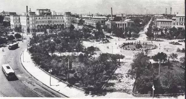 Zhongshan Square Shenyang 1950s