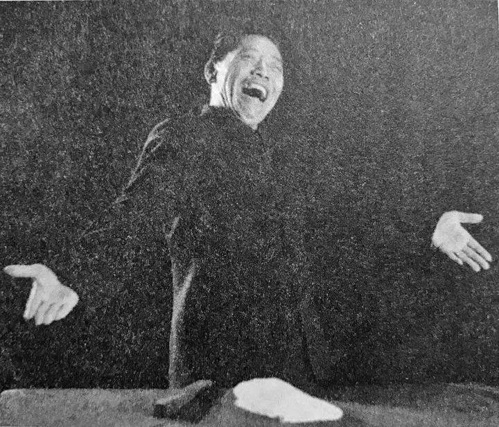 Shan Tianfang Performing a reading in the 1980s -《言归正传——单田芳说单田芳》