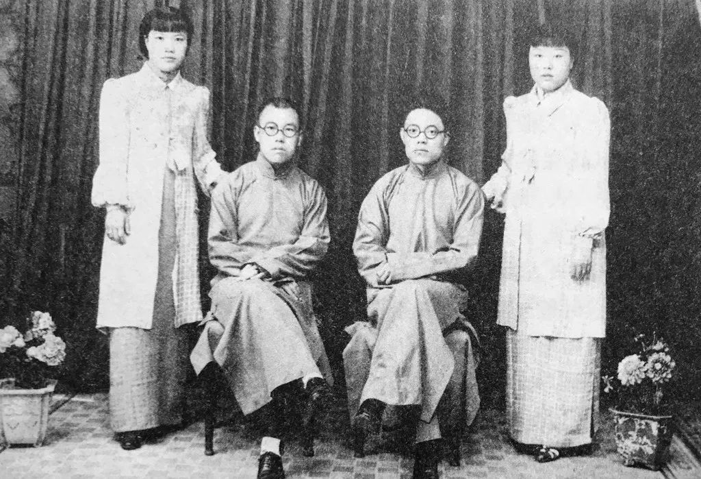 Shan Tianfang's parents, teacher, and his teacher's wife - 《言归正传——单田芳说单田芳》