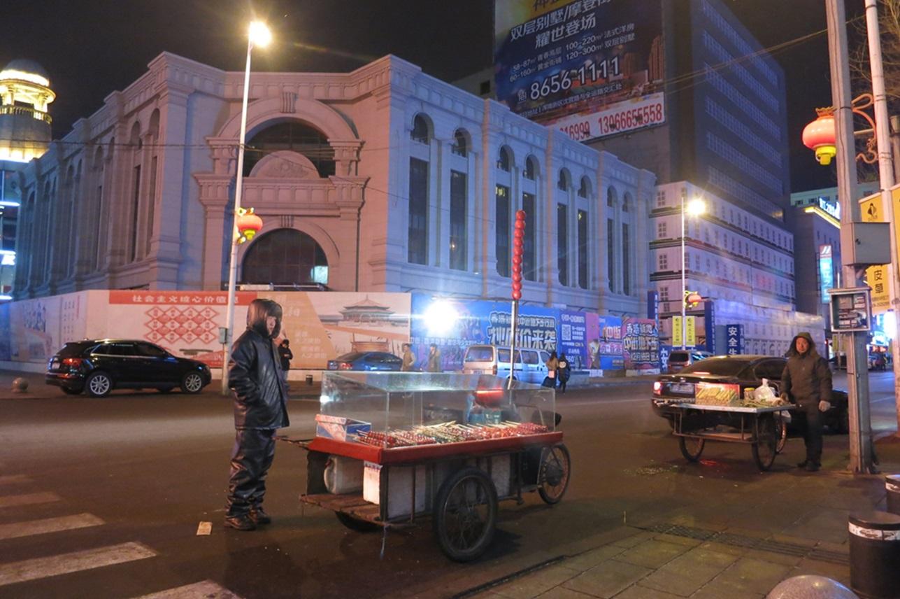 Street vendors in Shenyang, March 2015 photo credit: Sara Velas