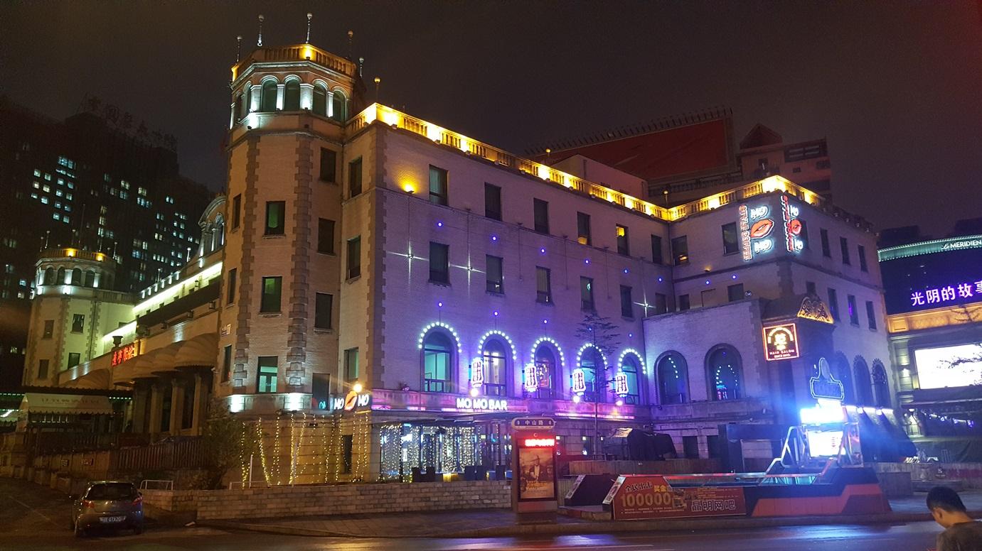 Liaoning Hotel off Zhongshan Square, May 2017 photo credit: Sara Velas