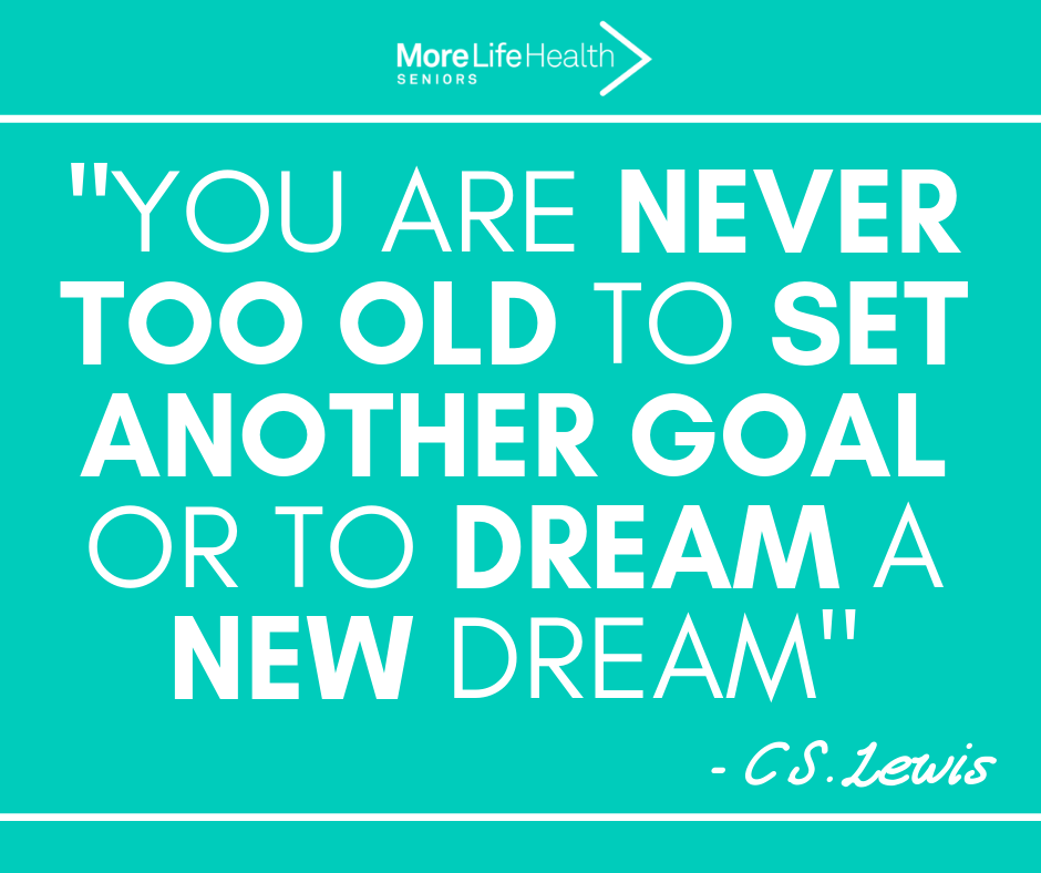 You are never too old