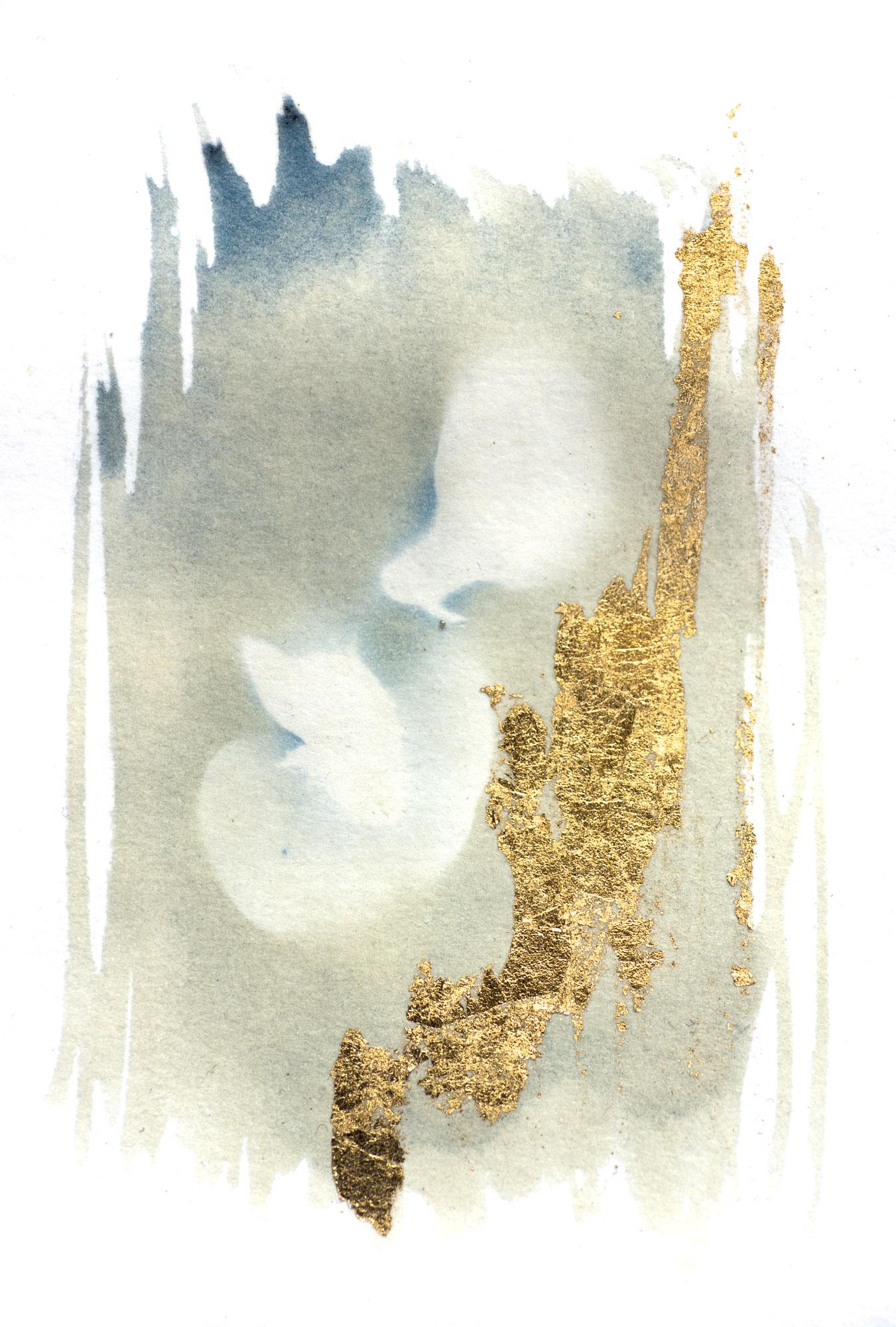 Gilded flower I