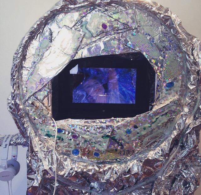 """""""Ceremony,"""" (exhibit view, 2015)"""
