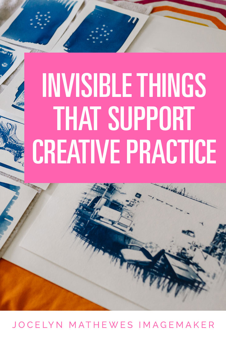 There are SO MANY things no one talks about when they talk about their art career. I'm an open book: here's a list of the things that make my studio practice possible!